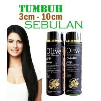 ORIGINAL Penyubur & Pemanjang Rambut KOREA Paket SYB Olive Black