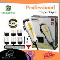 Wahl Super Taper - Hair Clipper - Alat Pangkas - Mesin Cukur Rambut - 4 Clipe