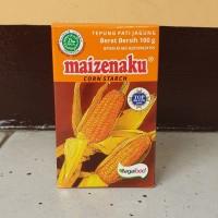 [satuan] Tepung Maizena Corn Starch MAIZENAKU 100 gram / 100gr