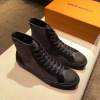 me sepatu pria branded LV sneaker KW premium 18⠀⠀⠀⠀⠀⠀⠀