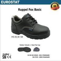 Sepatu Safety Eurostat-Ruppel Fox Basic. CE & SNI Certified