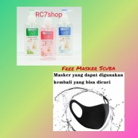 Nuvo Hand Sanitizer 250ml FREE Masker Scuba