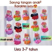 sarung tangan anak/sarung tangan wooll anak
