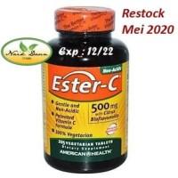 Ester-C 500 mg with Citrus Bioflavonoids - 225 Vegtabs AMERICAN HEALTH