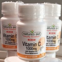 Vitamin C 1000 mg with Rosehips Bioflavonoids Natures Aid Blackmores