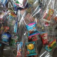 miniatur & hobi / craft / gantungan kunci / snack