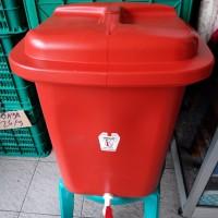 Tempat air kran untuk cuci tangan 42 Liter