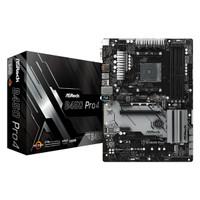 ASRock B450 Pro4 AMD Ryzen AM4 B450 Motherboard
