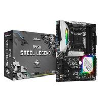 ASRock B450 Steel Legend AMD Ryzen AM4 B450 Motherboard