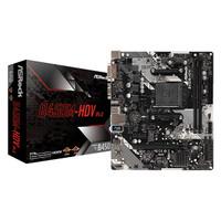 ASRock B450M-HDV R4.0 AMD Ryzen AM4 B450 Motherboard