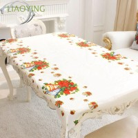 110*180cm Xmas Christmas Tablecloth Santa Claus Festival Decor Table
