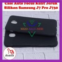 Case HP Auto Focus Motif Kulit Jeruk Samsung J7 Pro Kondom Trendy