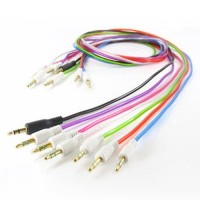 Kabel AUX Jack 1 in 1 3.5mm HP Android Samsung Asus Speaker (GROSIR)