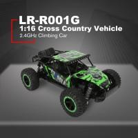 Baterai Mainan Mobil Off-Road RC 2.4GHz Skala 1: 16 dengan 2
