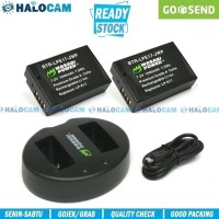 Wasabi Power PAKET 2 Battery & Charger for LP-E17 - M3 M5 M6 750D