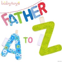 26Pcs Alphabet Letters Baby Cloth Books Early Education Toy TG