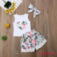 Headband ❈MG-Newborn Kid Baby Girls Sleeveless Heart T-Shirt Top