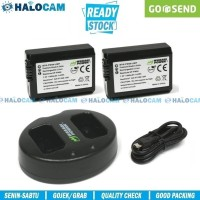 Wasabi Power PAKET 2 Battery & Charger for NP-FW50 - A6000 A6300 A6400