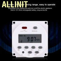 Allinit 12V 16A Weekly Timer Switch Microcomputer On Off Control