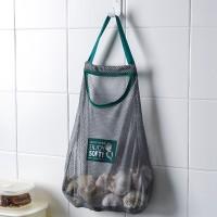Dapur buah tas penyimpanan dan tas gantung sayur dinding-mount rumah