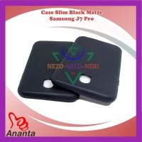 Case HP Slim Fit Black Mate Matte Samsung J7 Pro Kondom Trendy