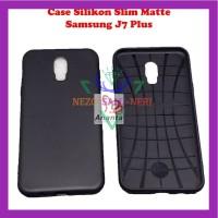 Case HP Slim Black Matte Samsung J7 Plus Kondom Trendy