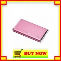 Vivan Polimer Series Premium M66 6000 mAh Scud Power Bank - Pink