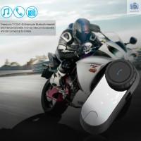 Intercom Headset Bluetooth T-COM VB ke Intercom Bluetooth 800m