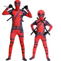 B2 Kostum Cosplay Halloween Bentuk Superhero Marvel untuk Pria TG