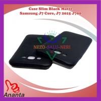 Case HP Slim Black Matte Samsung J7 2015 J700 J7 Core Kondom Trendy