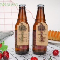 Pesta Pernikahan Fol 5Pcs Pembuka Botol Model Kunci Vintage untuk