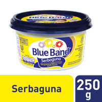BLUE BAND Margarin Serbaguna 250gr BLUEBAND Butter Krim Mentega Cup