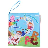 Baby Early Childhood Education Toys, Environmental Cloth Books Hard