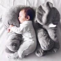 Gajah Bantal Boneka Binatang Anak Kecil Bayi Bantal Lembut Tidur