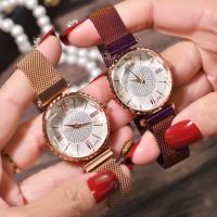 Watch Jam Tangan Wanita GOGOEY Simple Fashion Magnet Stone Anti Air