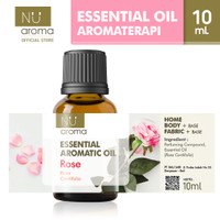 Nu Aroma Essential Aromatic Oil Rose / Mawar
