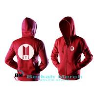 hoodie sweater BTS logo - jaket WANITA 05