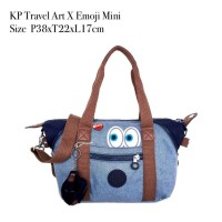 Kipling travel art X mini emoji tote shoulder bag crossbody