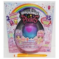 Spin Master Hatchimals Pixies Rainbow Unicorn Party 2.5-Inch CollEGGti