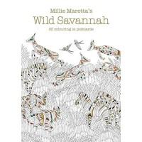 Millie Marotta's Wild Savannah Postcard Book : 30 beautiful cards for