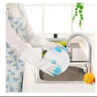 Rubber Glove Sarung Tangan Karet Biasa Cuci Piring Anti Air