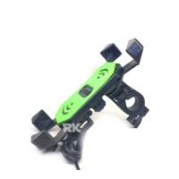 HOLDER HP PLUS CHARGER | PHONE HOLDER + USB | CHARGER MOTOR OUTDOOR