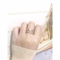 cincin fashion cartier titanium 2in1