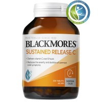 Blackmores vitamin C Sustained Release C 200 Tablets Australia