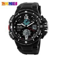 Jam Tangan Pria SKMEI Sport Analog LED Watch Water Resist 50m