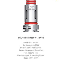 Coil RGC Mesh 0.17 OHM RPM 80 By SMOK - Coil SMOK RGC RPM80 Replacemen