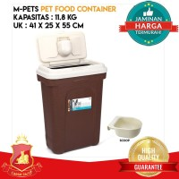 Tempat Penyimpanan Makanan Hewan / Pet Food Container 11.8Kg