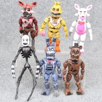 REAL - Figure Set Five Night At Freddy / Topper Cake Kue Five Night