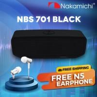 Nakamichi NBS 701 Black Wireless Bluetooth Speaker [BUNDLE DEAL 4]