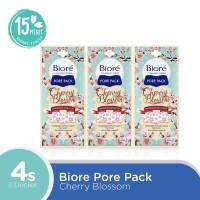 Biore Pore Pack Cherry Blossom 4S Set of 3